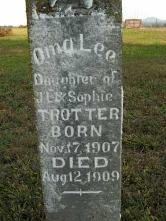 TROTTER, OMA LEE - Boone County, Arkansas | OMA LEE TROTTER - Arkansas Gravestone Photos