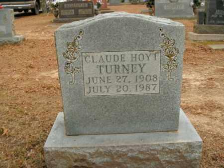 TURNEY, CLAUDE HOYT - Boone County, Arkansas | CLAUDE HOYT TURNEY - Arkansas Gravestone Photos