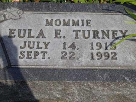 TURNEY, EULA E. - Boone County, Arkansas | EULA E. TURNEY - Arkansas Gravestone Photos