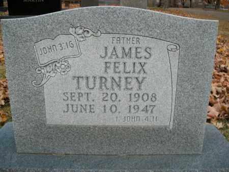 TURNEY, JAMES FELIX - Boone County, Arkansas | JAMES FELIX TURNEY - Arkansas Gravestone Photos