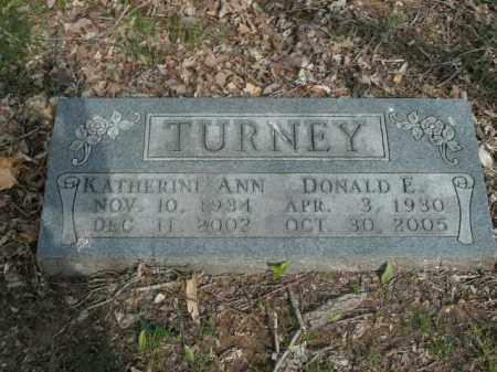 TURNEY, DONALD E. - Boone County, Arkansas   DONALD E. TURNEY - Arkansas Gravestone Photos
