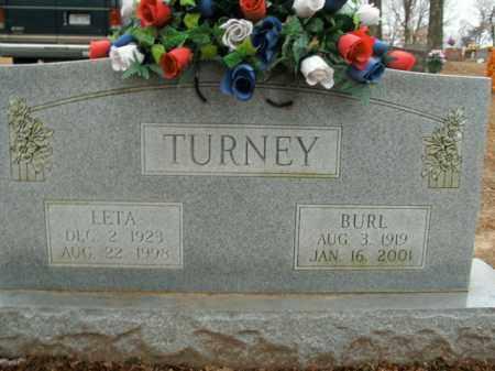 TURNEY, LETA - Boone County, Arkansas   LETA TURNEY - Arkansas Gravestone Photos