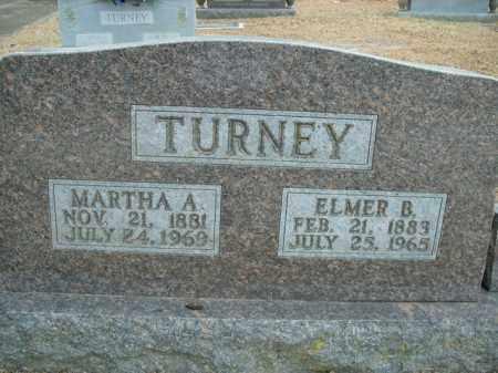 TURNEY, MARTHA ALICE - Boone County, Arkansas | MARTHA ALICE TURNEY - Arkansas Gravestone Photos