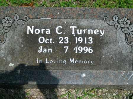 TURNEY, NORA C. - Boone County, Arkansas | NORA C. TURNEY - Arkansas Gravestone Photos