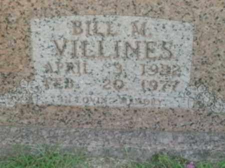 VILLINES, BILL M. - Boone County, Arkansas | BILL M. VILLINES - Arkansas Gravestone Photos