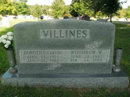 VILLINES, WOODROW W. - Boone County, Arkansas | WOODROW W. VILLINES - Arkansas Gravestone Photos
