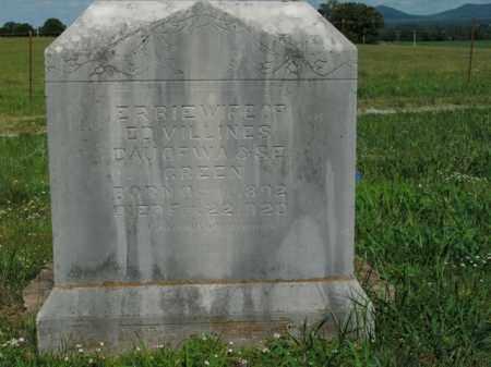 VILLINES, ERBIE - Boone County, Arkansas | ERBIE VILLINES - Arkansas Gravestone Photos