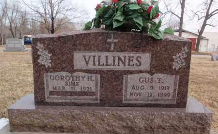 VILLINES, GUS T. - Boone County, Arkansas | GUS T. VILLINES - Arkansas Gravestone Photos