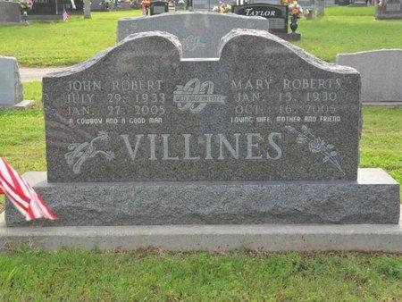 VILLINES, JOHN ROBERT - Boone County, Arkansas | JOHN ROBERT VILLINES - Arkansas Gravestone Photos