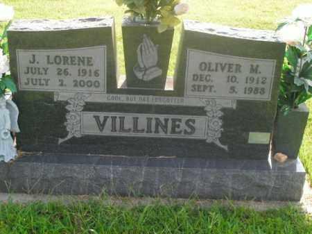 VILLINES, JOCIE LORENE - Boone County, Arkansas | JOCIE LORENE VILLINES - Arkansas Gravestone Photos
