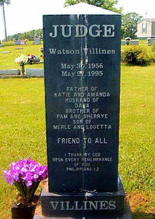 VILLINES, WATSON (JUDGE) - Boone County, Arkansas | WATSON (JUDGE) VILLINES - Arkansas Gravestone Photos