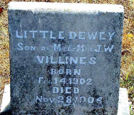 VILLINES, DEWEY - Boone County, Arkansas | DEWEY VILLINES - Arkansas Gravestone Photos