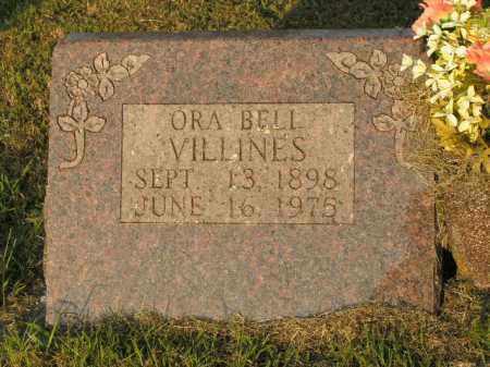 VILLINES, ORA BELL - Boone County, Arkansas   ORA BELL VILLINES - Arkansas Gravestone Photos