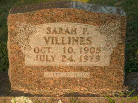 VILLINES, SARAH FRANCES - Boone County, Arkansas | SARAH FRANCES VILLINES - Arkansas Gravestone Photos