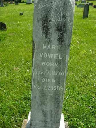VOWEL, MARY - Boone County, Arkansas | MARY VOWEL - Arkansas Gravestone Photos