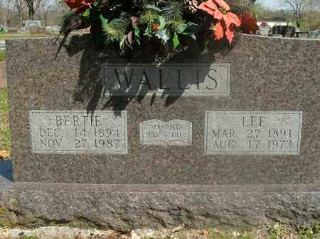 WALLIS, LEE - Boone County, Arkansas   LEE WALLIS - Arkansas Gravestone Photos