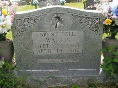 WALLIS, BRENT DELL - Boone County, Arkansas | BRENT DELL WALLIS - Arkansas Gravestone Photos