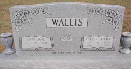 WALLIS, MARY JANE - Boone County, Arkansas | MARY JANE WALLIS - Arkansas Gravestone Photos