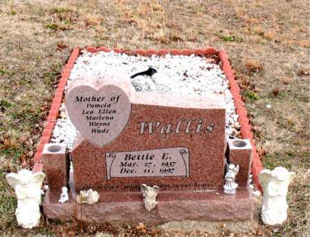 WALLIS, BETTIE E. - Boone County, Arkansas | BETTIE E. WALLIS - Arkansas Gravestone Photos
