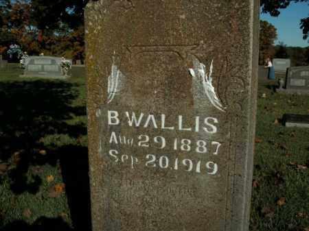 WALLIS, B. - Boone County, Arkansas   B. WALLIS - Arkansas Gravestone Photos