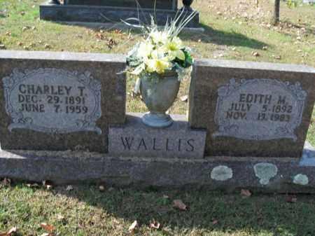 WALLIS, EDITH M. - Boone County, Arkansas   EDITH M. WALLIS - Arkansas Gravestone Photos