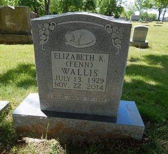 WALLIS, ELIZABETH K - Boone County, Arkansas   ELIZABETH K WALLIS - Arkansas Gravestone Photos