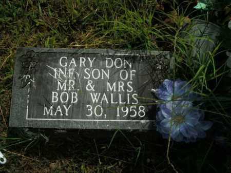 WALLIS, GARY DON - Boone County, Arkansas   GARY DON WALLIS - Arkansas Gravestone Photos