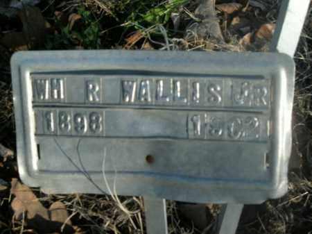 WALLIS, JR, WILLIAM R. - Boone County, Arkansas   WILLIAM R. WALLIS, JR - Arkansas Gravestone Photos