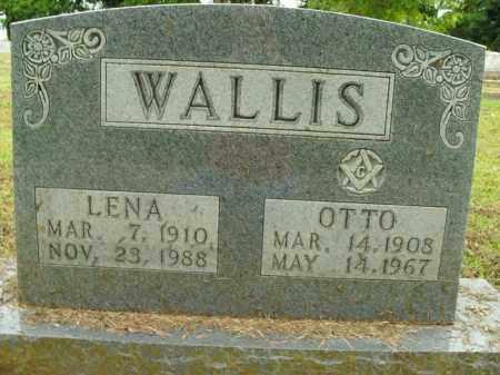 WALLIS, OTTO - Boone County, Arkansas | OTTO WALLIS - Arkansas Gravestone Photos