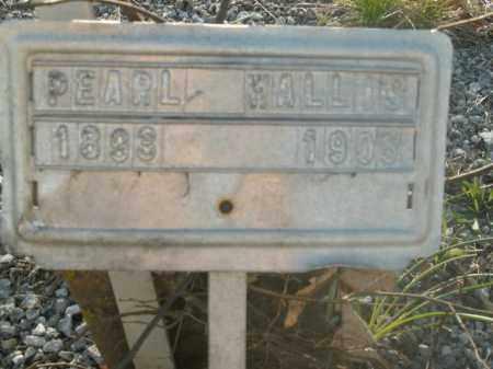 WALLIS, PEARL - Boone County, Arkansas | PEARL WALLIS - Arkansas Gravestone Photos