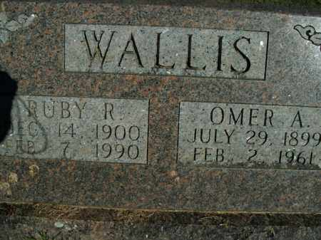 WALLIS, OMER AUGUSTUS - Boone County, Arkansas   OMER AUGUSTUS WALLIS - Arkansas Gravestone Photos