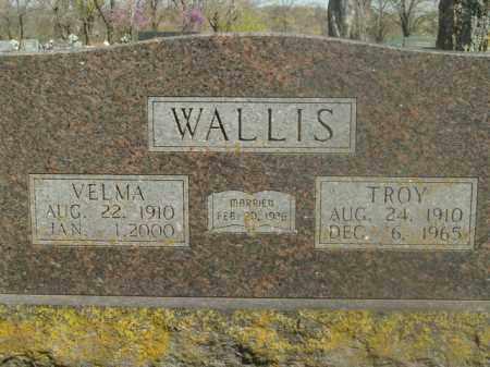 WALLIS, TROY - Boone County, Arkansas   TROY WALLIS - Arkansas Gravestone Photos