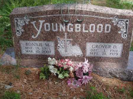 YOUNGBLOOD, GROVER D. - Boone County, Arkansas   GROVER D. YOUNGBLOOD - Arkansas Gravestone Photos