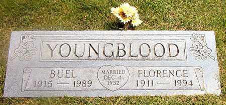 YOUNGBLOOD, BUEL - Boone County, Arkansas   BUEL YOUNGBLOOD - Arkansas Gravestone Photos