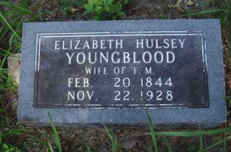 YOUNGBLOOD, ELIZABETH - Boone County, Arkansas | ELIZABETH YOUNGBLOOD - Arkansas Gravestone Photos
