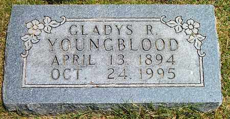 YOUNGBLOOD, GLADYS R. - Boone County, Arkansas   GLADYS R. YOUNGBLOOD - Arkansas Gravestone Photos
