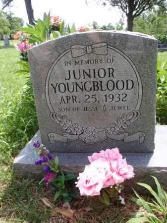YOUNGBLOOD, JUNIOR - Boone County, Arkansas | JUNIOR YOUNGBLOOD - Arkansas Gravestone Photos
