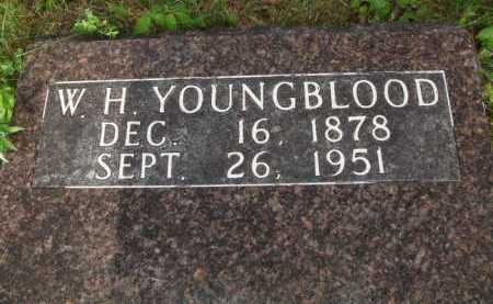 YOUNGBLOOD, W. H. - Boone County, Arkansas   W. H. YOUNGBLOOD - Arkansas Gravestone Photos