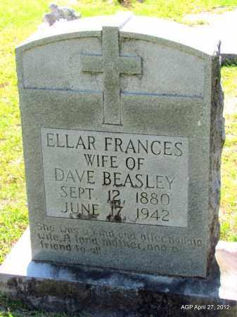BEASLEY, ELLAR FRANCES - Bradley County, Arkansas   ELLAR FRANCES BEASLEY - Arkansas Gravestone Photos