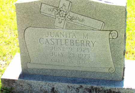 CASTLEBERRY, JUANITA M - Bradley County, Arkansas   JUANITA M CASTLEBERRY - Arkansas Gravestone Photos