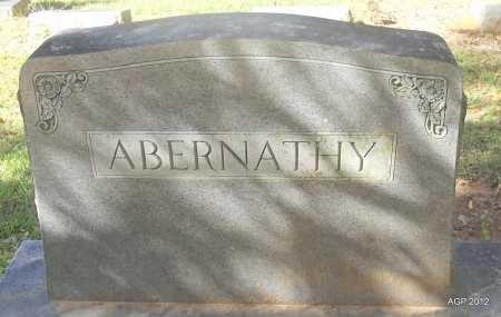 ABERNATHY , MARKER - Bradley County, Arkansas | MARKER ABERNATHY  - Arkansas Gravestone Photos