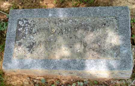 ABERNATHY, ELINOR - Bradley County, Arkansas   ELINOR ABERNATHY - Arkansas Gravestone Photos