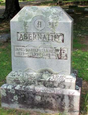 ABERNATHY, SARAH - Bradley County, Arkansas | SARAH ABERNATHY - Arkansas Gravestone Photos