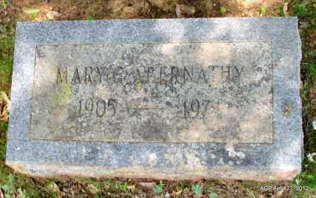 ABERNATHY, MARY G - Bradley County, Arkansas   MARY G ABERNATHY - Arkansas Gravestone Photos
