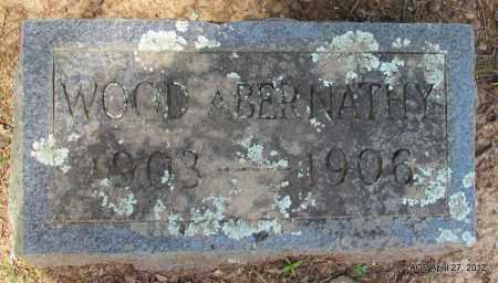ABERNATHY, WOOD - Bradley County, Arkansas | WOOD ABERNATHY - Arkansas Gravestone Photos