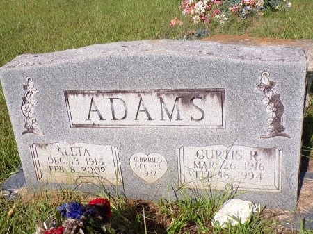 ADAMS, CURTIS R - Bradley County, Arkansas | CURTIS R ADAMS - Arkansas Gravestone Photos