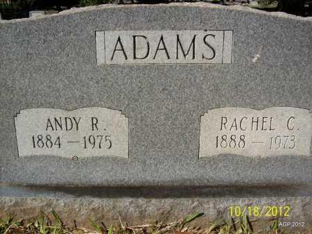 ADAMS, RACHEL C - Bradley County, Arkansas | RACHEL C ADAMS - Arkansas Gravestone Photos