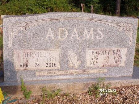 ADAMS, BARNEY RAY - Bradley County, Arkansas | BARNEY RAY ADAMS - Arkansas Gravestone Photos