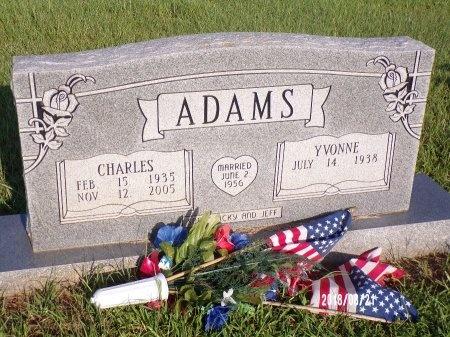 ADAMS, CHARLES E - Bradley County, Arkansas | CHARLES E ADAMS - Arkansas Gravestone Photos