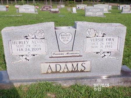 ADAMS, VERSIE ORA - Bradley County, Arkansas | VERSIE ORA ADAMS - Arkansas Gravestone Photos